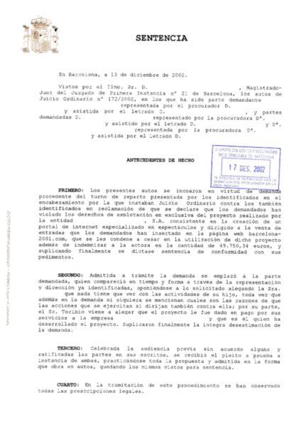 Traducción jurada: sentencia judicial